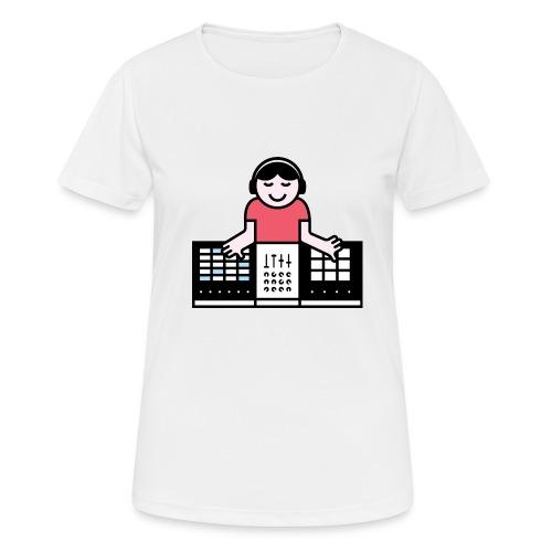 Ableto DJ - Vrouwen T-shirt ademend actief