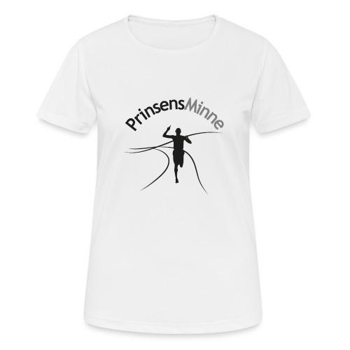 PrinsensMinne logga - Andningsaktiv T-shirt dam