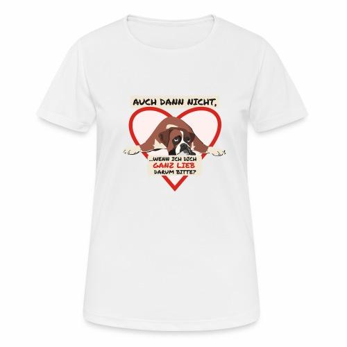 Hundeblick - Frauen T-Shirt atmungsaktiv