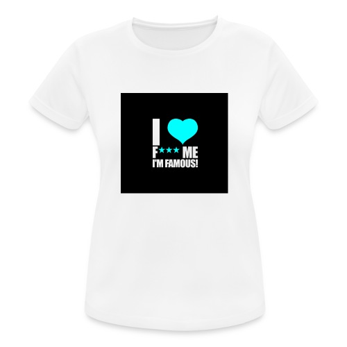 I Love FMIF Badge - T-shirt respirant Femme