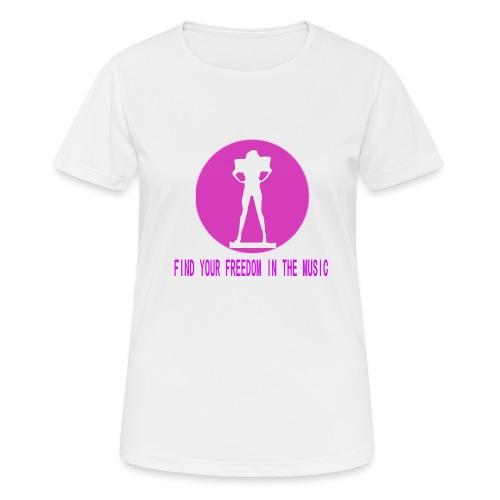 DANCE IN THE DARK unisex - Camiseta mujer transpirable