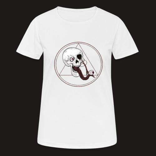 EyeSkull - Frauen T-Shirt atmungsaktiv
