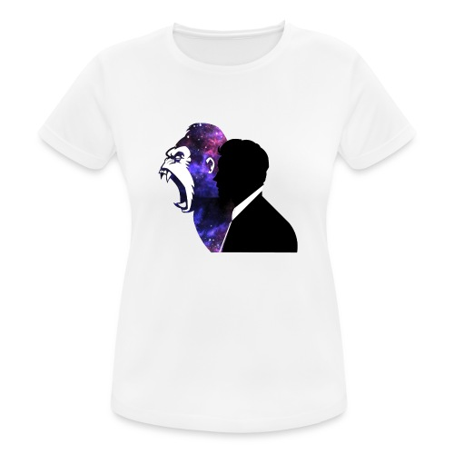 Gorilla - Vrouwen T-shirt ademend actief