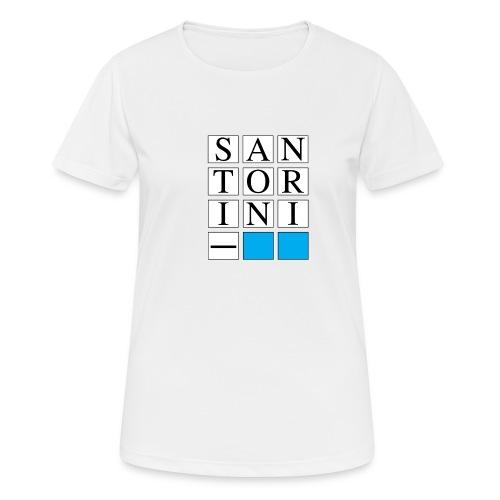 SANTORINI - Maglietta da donna traspirante