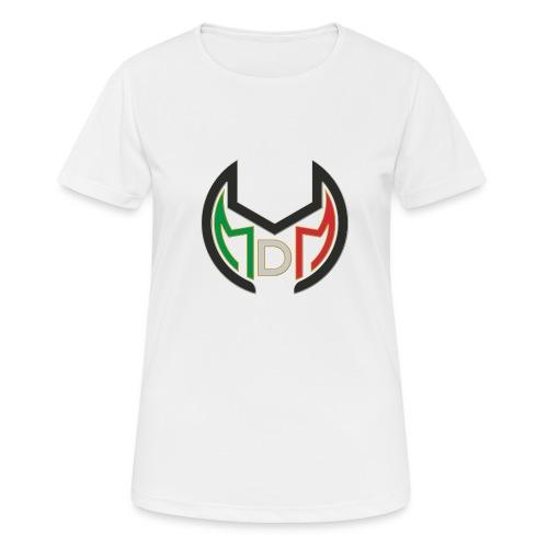 Logo MdM png senza sfondo - Maglietta da donna traspirante
