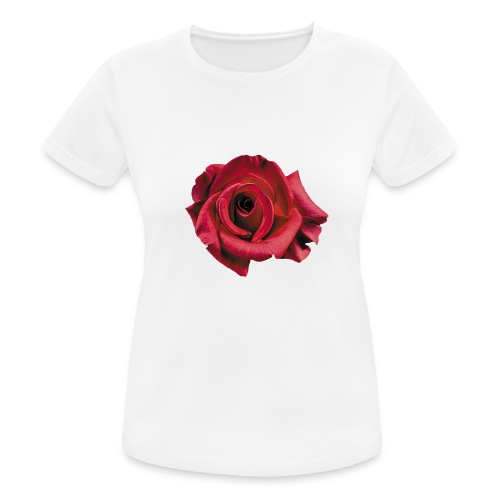 Röd Ros - Andningsaktiv T-shirt dam