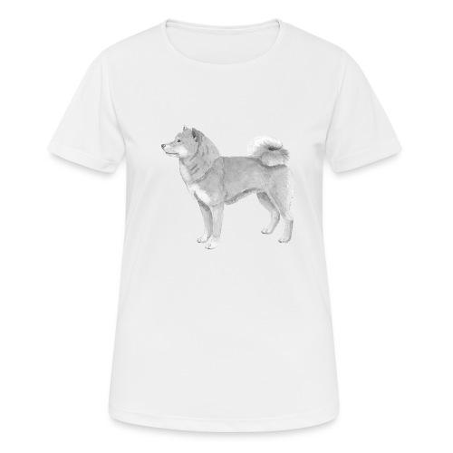shiba inu - Dame T-shirt svedtransporterende