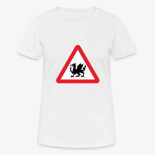Welsh Dragon - Women's Breathable T-Shirt