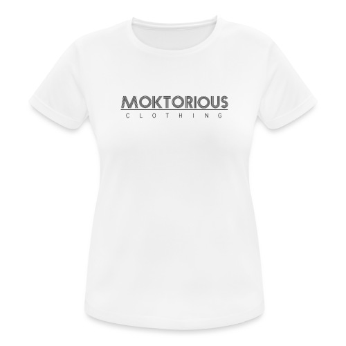MOKTORIOUS CLOTHING - BLACK - VERTICAL - Frauen T-Shirt atmungsaktiv