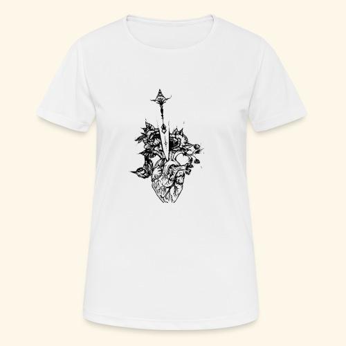 la nature du coeur - T-shirt respirant Femme