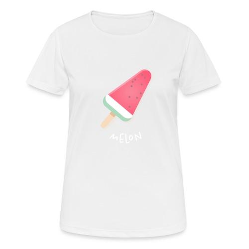 melon vrouwen t-shirt - Vrouwen T-shirt ademend actief