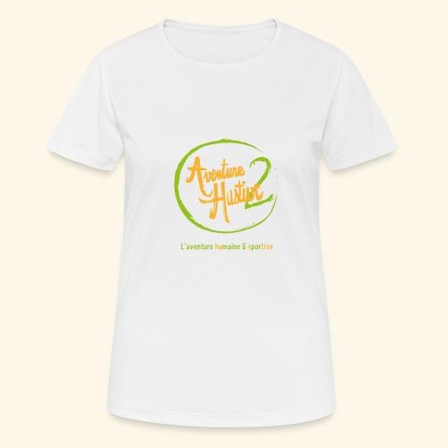logo AventureHustive 2 - T-shirt respirant Femme