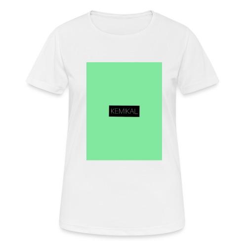 KEMIKAL - Maglietta da donna traspirante