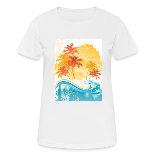 Palm Beach - Women's Breathable T-Shirt