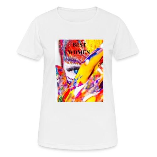 best women - T-shirt respirant Femme