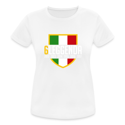 6LEGGENDA BLACK - Maglietta da donna traspirante