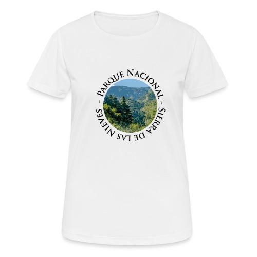 Parque Nacional Sierra de las Nieves - Camiseta mujer transpirable