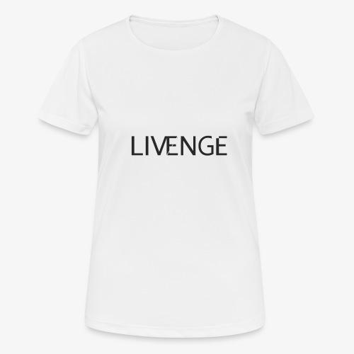 Livenge - Vrouwen T-shirt ademend actief