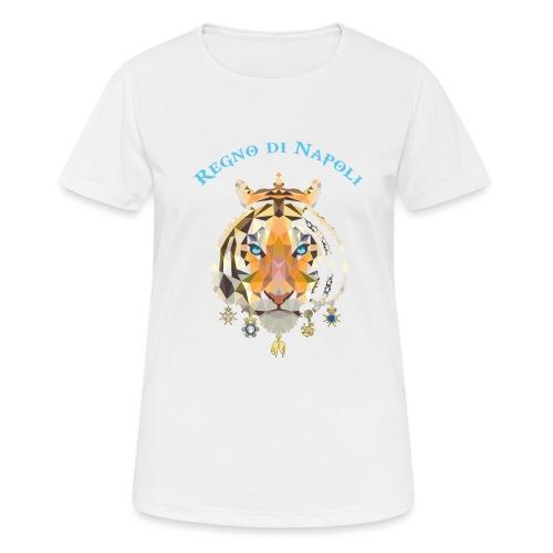 regno di napoli tigre - Maglietta da donna traspirante