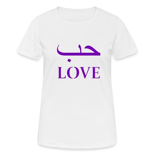 Hubun/Love (حب) - Vrouwen T-shirt ademend actief