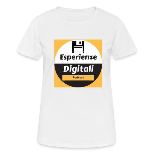 Logo Esperienze Digitali - Maglietta da donna traspirante