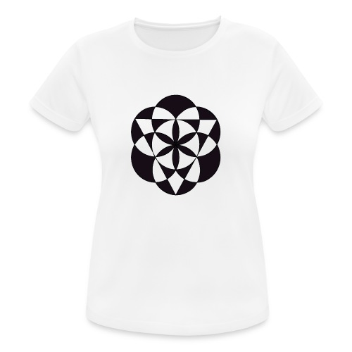 diseño de figuras geométricas - Camiseta mujer transpirable