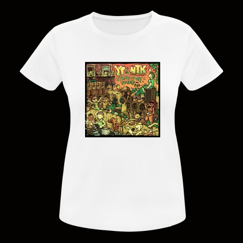String Up My Sound Artwork - Women's Breathable T-Shirt