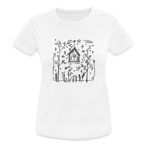 Vogelhuisje - T-shirt respirant Femme