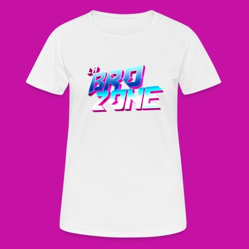 La BroZone ! - T-shirt respirant Femme