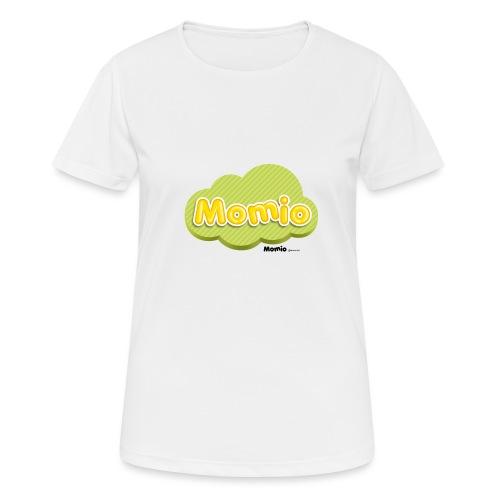 Logo van Momio - Vrouwen T-shirt ademend actief