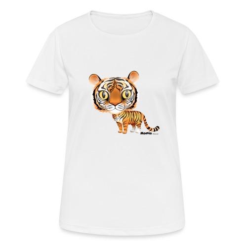 Tijger - Vrouwen T-shirt ademend actief
