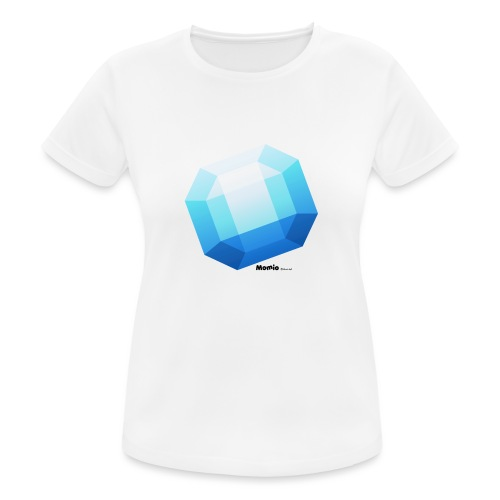 Saffier - Vrouwen T-shirt ademend actief
