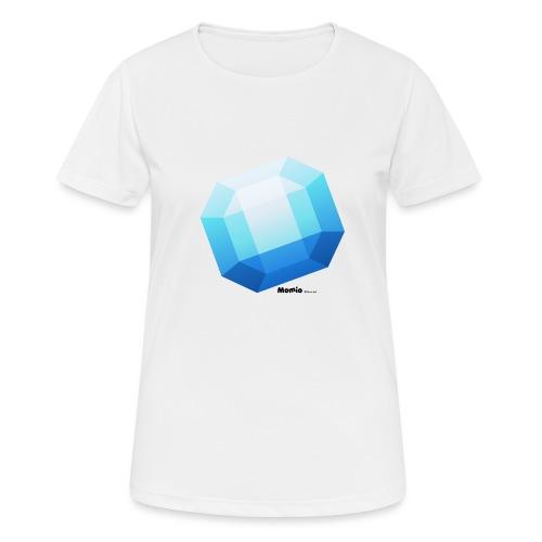 Saphir - Frauen T-Shirt atmungsaktiv