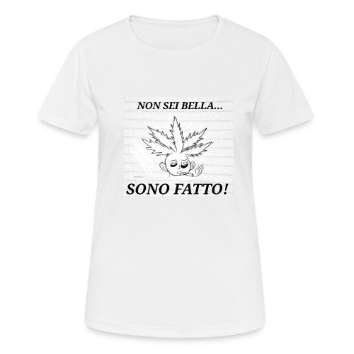 Fatt-One - Maglietta da donna traspirante