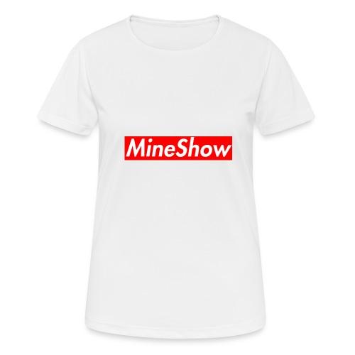 MineShow Box-Logo - Frauen T-Shirt atmungsaktiv