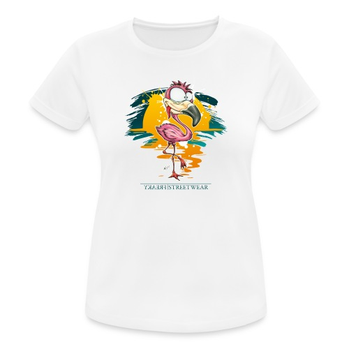 Flamingo Weirdo - Frauen T-Shirt atmungsaktiv
