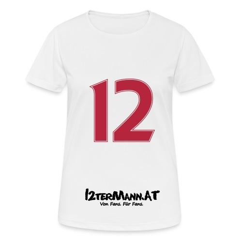 12termann mitfans - Frauen T-Shirt atmungsaktiv