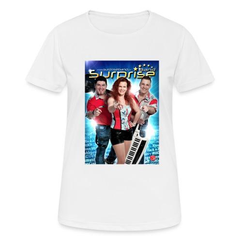 Autogramm Surprise Band - Frauen T-Shirt atmungsaktiv