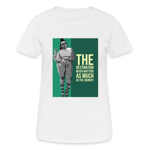 girlquote - T-shirt respirant Femme