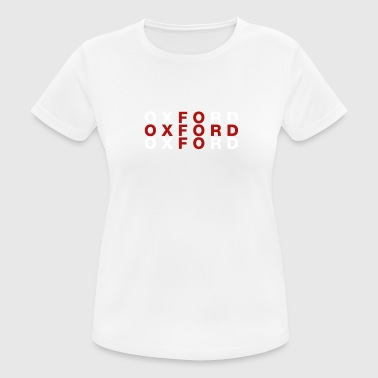 Oxford Royaume-Uni Drapeau Shirt - Oxford T-shirt - T-shirt respirant Femme