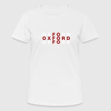 Oxford United Kingdom Flag Shirt - Oxford T-Shirt - Women's Breathable T-Shirt