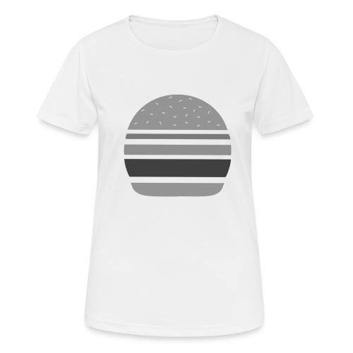 Logo_panhamburger_gris - T-shirt respirant Femme