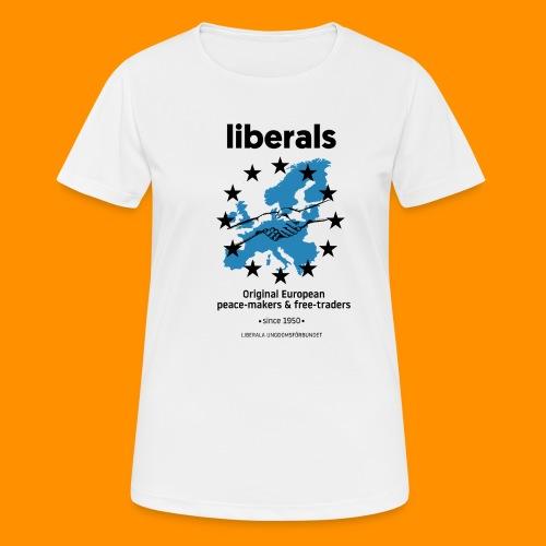 OG european liberals - Andningsaktiv T-shirt dam