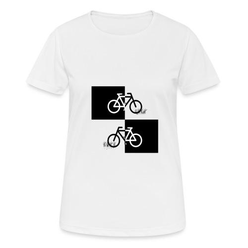 Ich liebe mein Fahrrad T-Shirt für Biker - Frauen T-Shirt atmungsaktiv