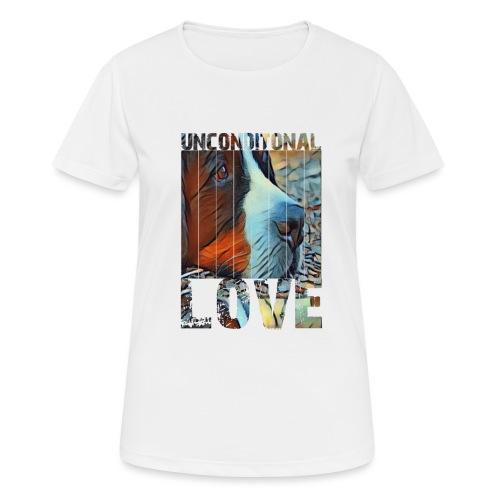 Bernese mountain dog - Vrouwen T-shirt ademend actief