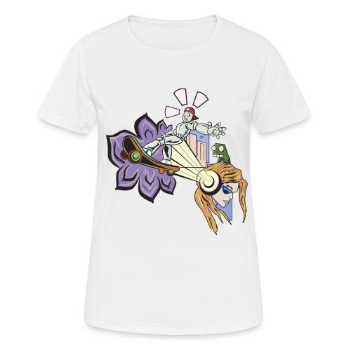 Spring Doodle - Vrouwen T-shirt ademend actief
