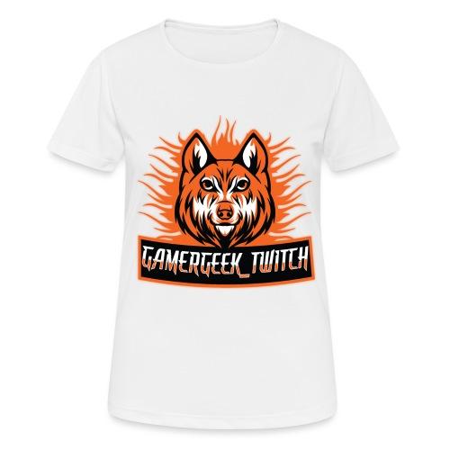 GamerGeek Logo XXXL - Frauen T-Shirt atmungsaktiv