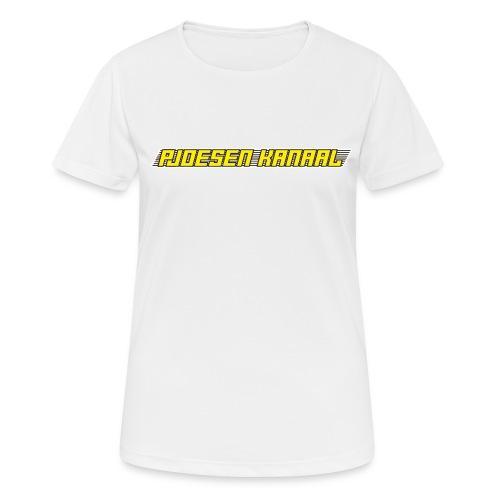 Pjoesen Kanaal - vrouwen T-shirt ademend