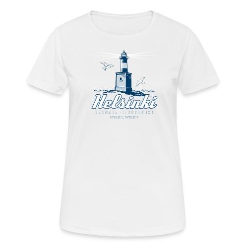 HELSINKI HARMAJAN MAJAKKA - Tekstiilit ja lahjat - naisten tekninen t-paita