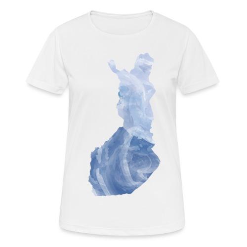 Suomi Finland - naisten tekninen t-paita